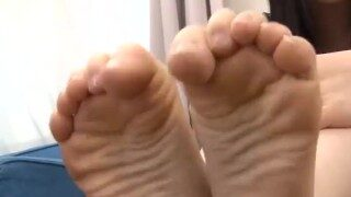 Ai Uehara – Feet Tease